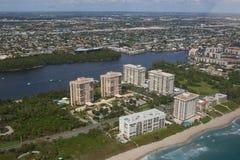 Stadt von Boca Raton Lizenzfreies Stockfoto
