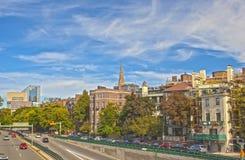 Stadt von Boston, MA, die Vereinigten Staaten von Amerika HDR Bild Lizenzfreies Stockbild