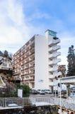 Stadt von Bräuten-les-Bains Abteilung von Savoie Lizenzfreie Stockfotografie