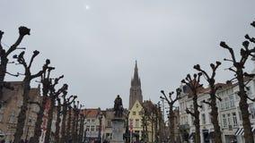 Stadt von Brügge lizenzfreie stockbilder