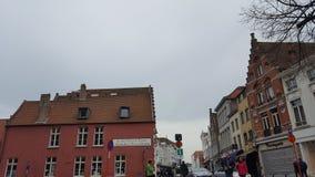 Stadt von Brügge lizenzfreie stockfotografie