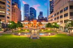 Stadt von Brisbane lizenzfreie stockfotografie