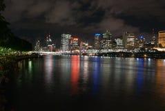 Stadt von Brisbane lizenzfreie stockfotos