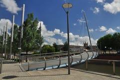 Stadt von Bristol, zeitgenössische Stadtentwicklung stockbild