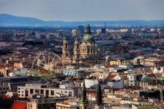 Stadt von Budapest in Ungarn stockfoto