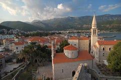 Stadt von Budva Lizenzfreies Stockfoto