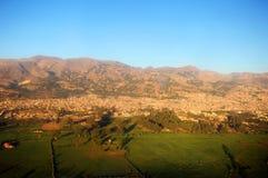 Stadt von Cajamarca Peru Stockbilder