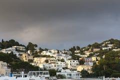 Stadt von Capri, Capri-Insel, Italien Stockfotos