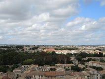 Stadt von Carcassonne Stockbild