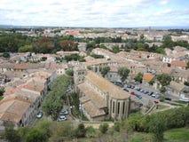 Stadt von Carcassonne Lizenzfreies Stockbild
