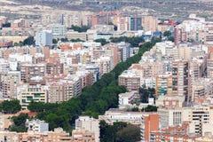 Stadt von Cartagena, Spanien Stockbilder