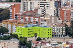 Stadt von Cartagena, Spanien Lizenzfreies Stockbild