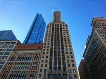 Stadt von Chicago stockfotos