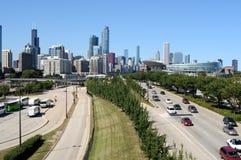 Stadt von Chicago Lizenzfreie Stockfotografie