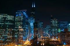 Stadt von Chicago Lizenzfreie Stockfotos