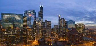 Stadt von Chicago Lizenzfreie Stockbilder