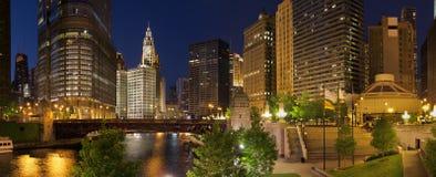 Stadt von Chicago Stockfoto