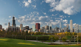 Stadt von Chicago. Stockfotografie