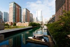 Stadt von Chicago Lizenzfreies Stockbild