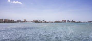 Stadt von Clearwater-Strand lizenzfreie stockbilder