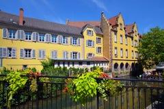 Stadt von Colmar, Frankreich Stockbilder