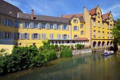 Stadt von Colmar, Frankreich Lizenzfreies Stockbild