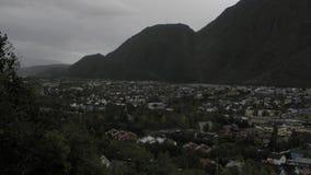 Stadt von der Spitze Lizenzfreie Stockfotos