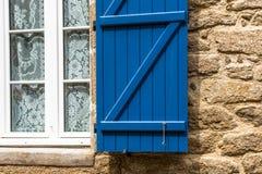 Stadt von Dinan, Bretagne, Frankreich Stockfotografie