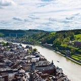 Stadt von Dinant stockfoto