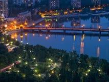 Stadt von Donetsk stockbild