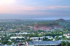 Stadt von Donetsk, Ukraine Lizenzfreies Stockfoto