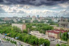 Stadt von Donetsk, Ukraine Lizenzfreies Stockbild