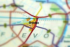 Stadt von Dronten - Niederlanden lizenzfreie stockfotografie