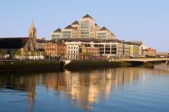 Stadt von Dublin Stockfoto