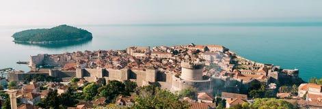 Stadt von Dubrovnik stockbild