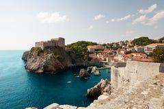 Stadt von Dubrovnik Lizenzfreie Stockfotos