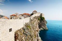 Stadt von Dubrovnik Stockfotografie
