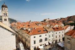 Stadt von Dubrovnik Stockfotos