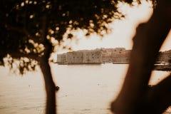 Stadt von Dubrovnik, Kroatien lizenzfreies stockbild