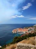 Stadt von Dubrovnik, Kroatien Lizenzfreie Stockfotos