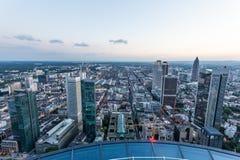 Stadt von Frankfurt-Hauptleitung, Deutschland Lizenzfreie Stockfotografie