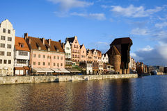 Stadt von Gdansk Stockfoto