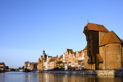 Stadt von Gdansk Stockfotografie