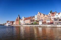 Stadt von Gdansk Stockbilder