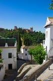 Stadt von Granada, Spanien Stockfotografie