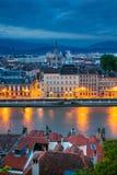 Stadt von Grenoble, Frankreich lizenzfreie stockfotos