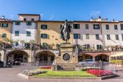Stadt von Greve in Italien lizenzfreie stockfotos
