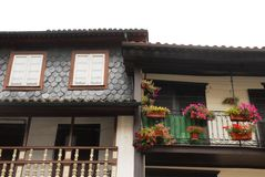 Stadt von Guimaraes in Portugal Stockbild