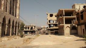 Stadt von homs nach Krieg Lizenzfreie Stockfotografie