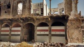 Stadt von homs nach Krieg Lizenzfreies Stockbild